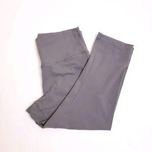 Lululemon Cropped Gray Leggings, Sz 12